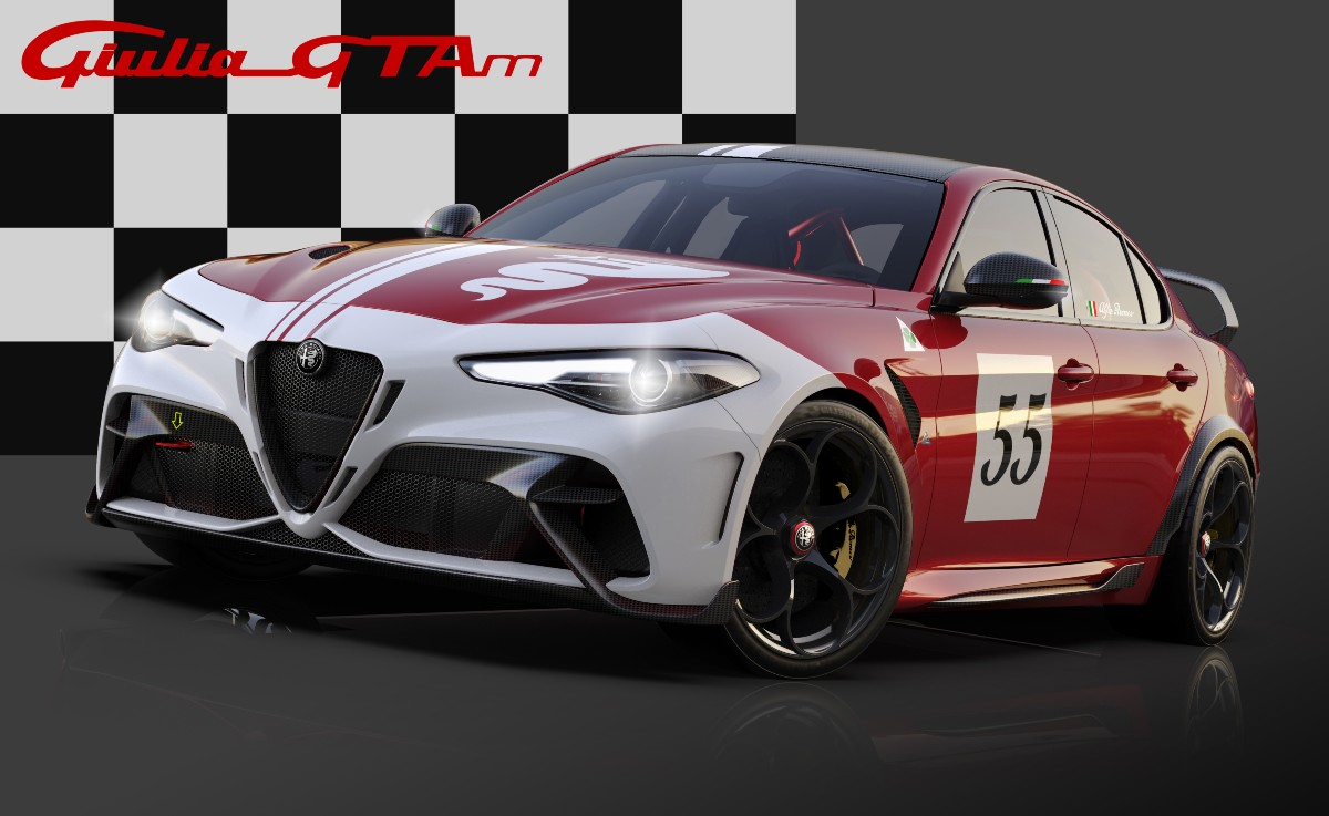 12 Alfa Romeo Giulia GTA dedicated Livery