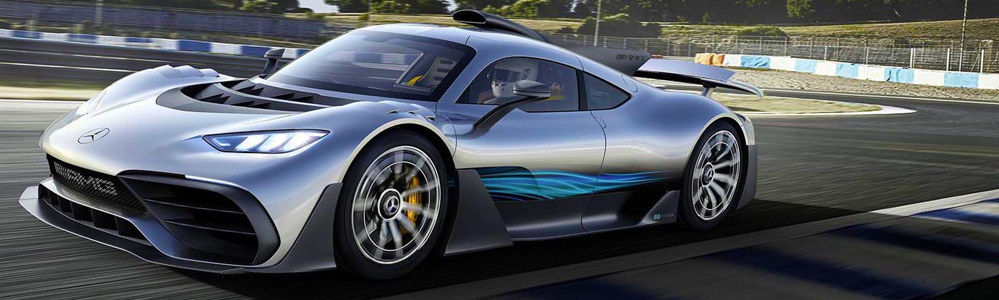 ¿Ya conoces al Mercedes-AMG Project One?