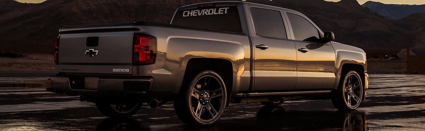 Una Chevrolet Silverado súper vitaminada