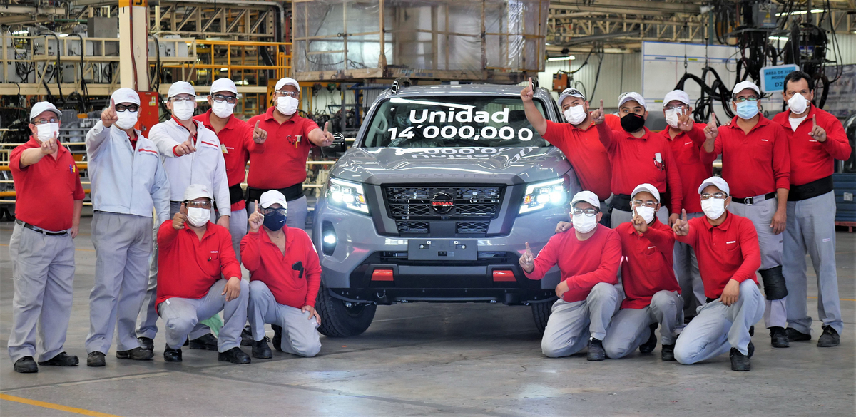 Nissan produccion mexico