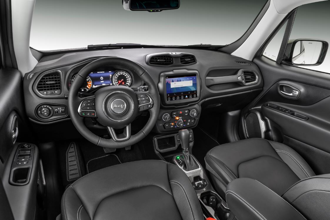Jeep Renegade 2020 interior