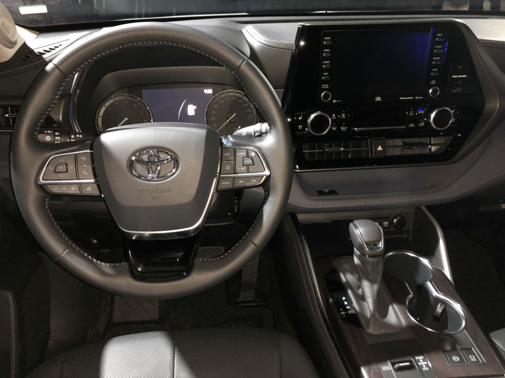 Toyota Highlander 2020 interior