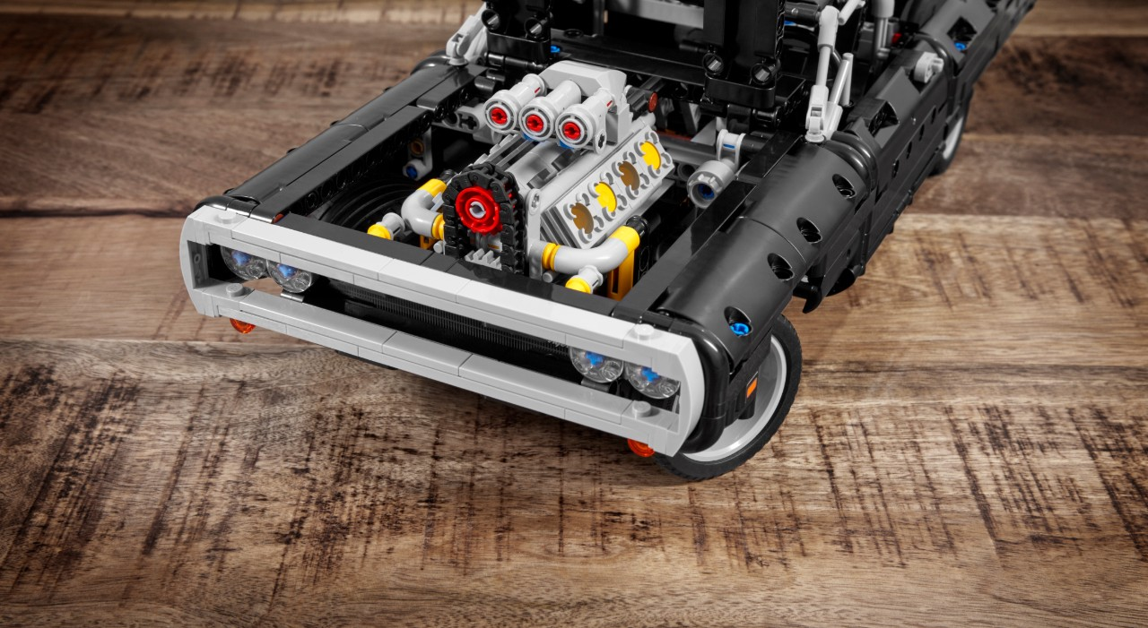 dodge charger toretto lego 2
