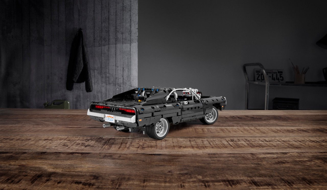 dodge charger toretto lego 1