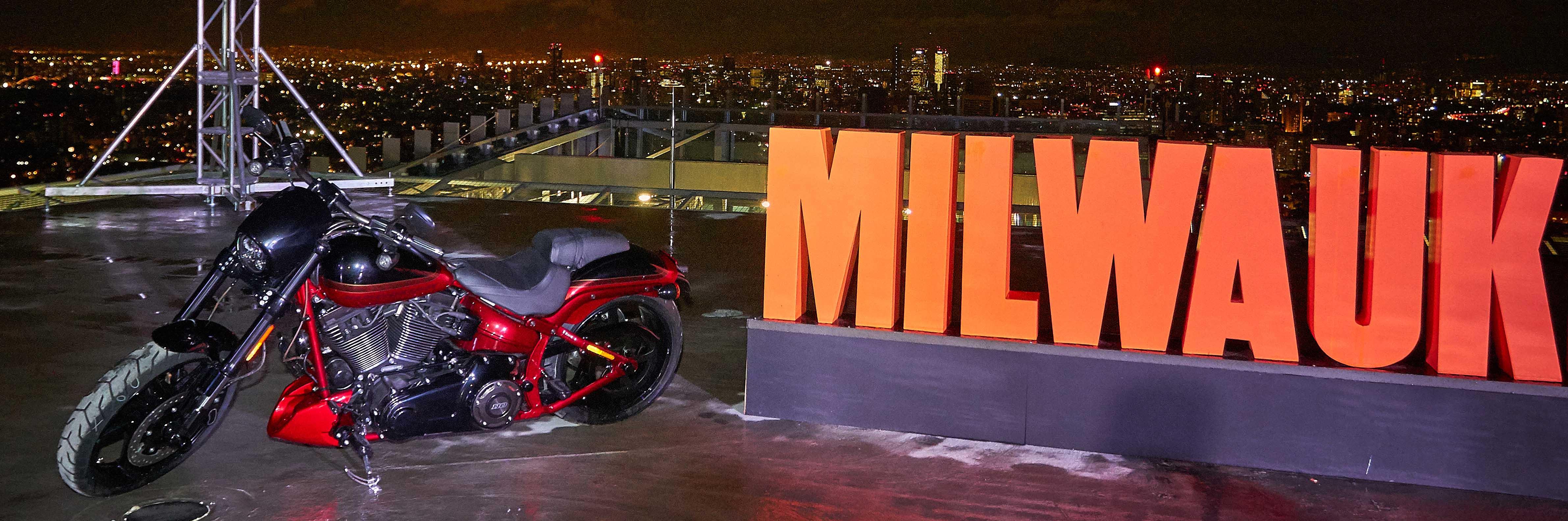 Harley-Davidson un lanzamiento de altura.