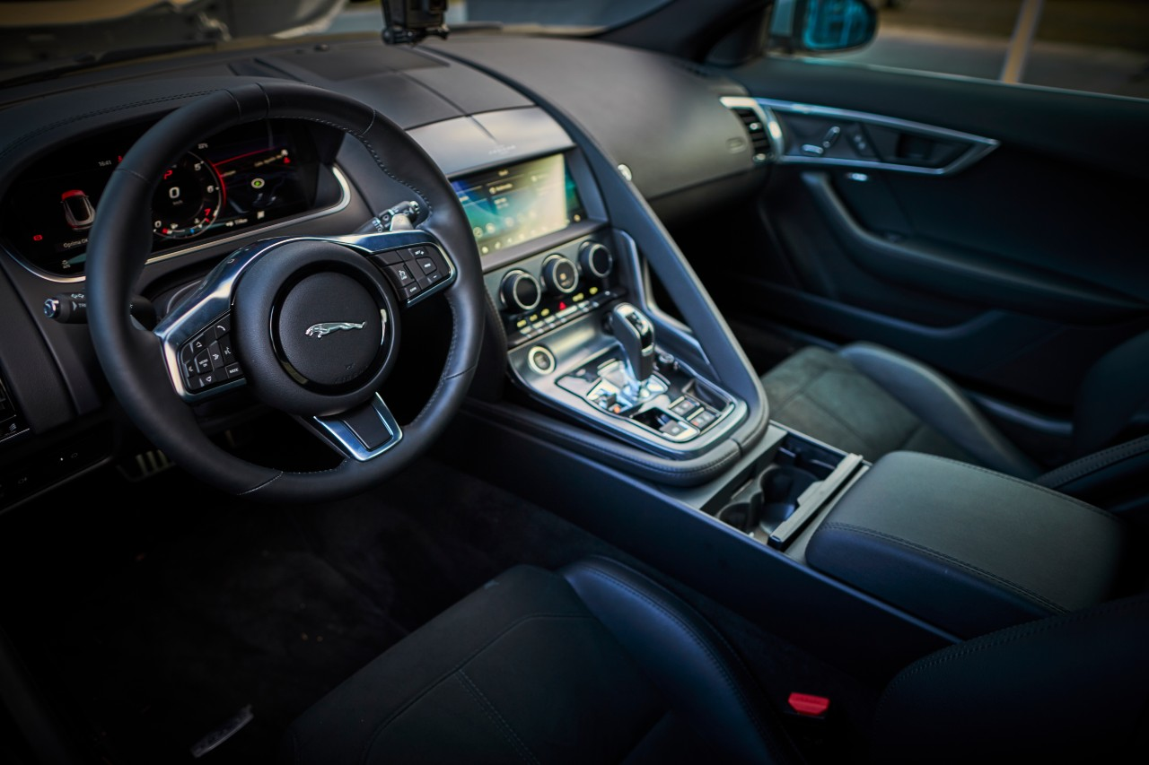 jaguar f type 2021 interior