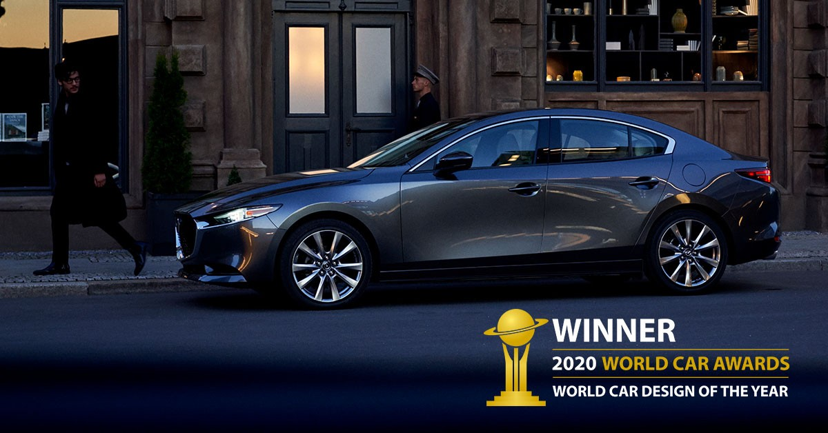 mazda 3 world car awards 2020