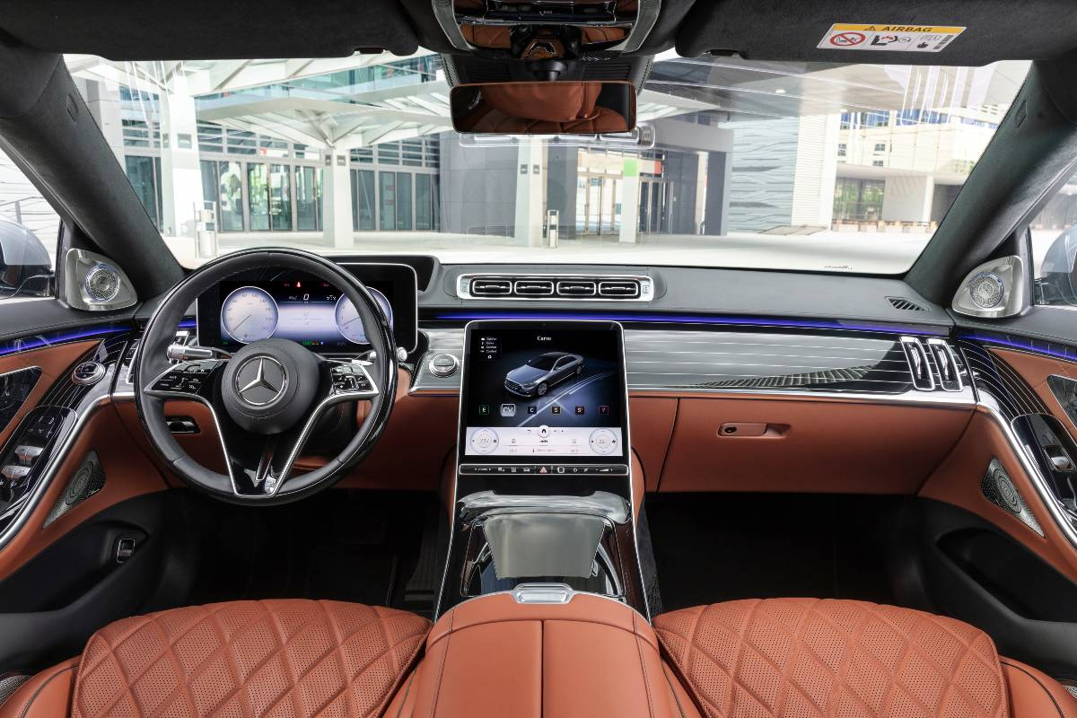 mercedes benz clase s 2021 interior 1