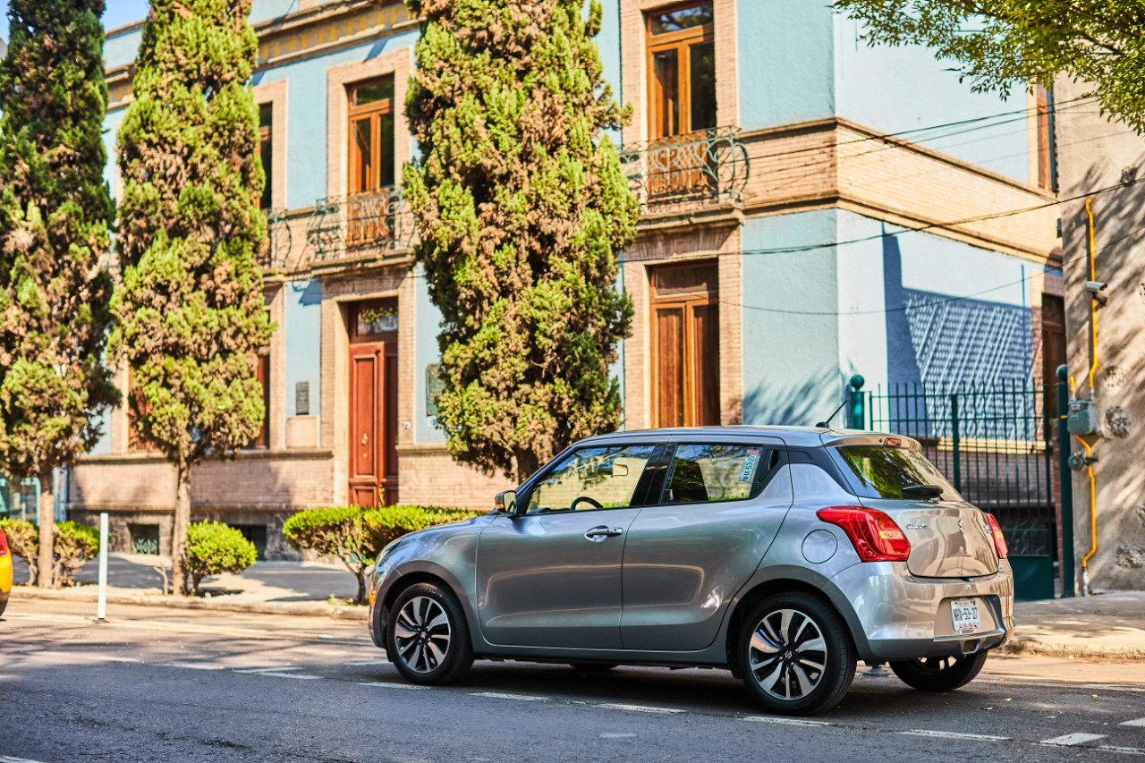 suzuki swift boosterjet trasera