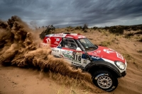 Tres MINI John Cooper Works Rally completan el Rally Dakar 2017