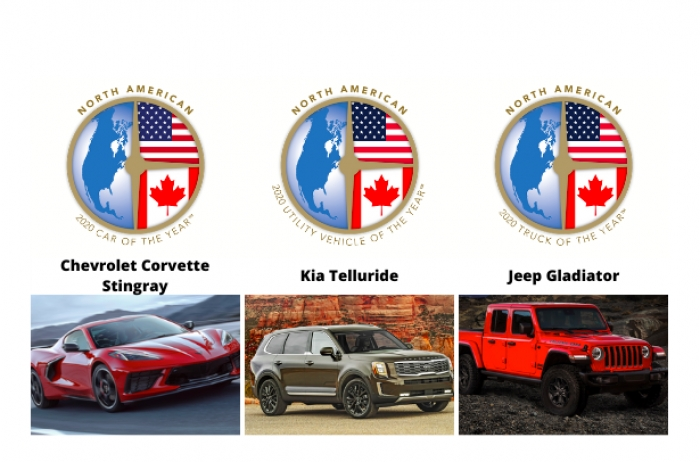 Estos son los ganadores del North American Car of the Year 2020
