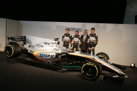 Force India presenta el VJM10 y su alineación Checo-Ocon